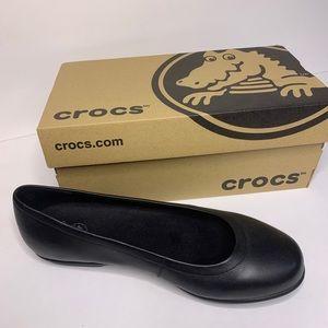 "NWT size 9 ""Grace"" Croc flats with original box"
